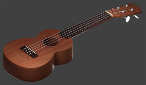 3D guitar 1 model