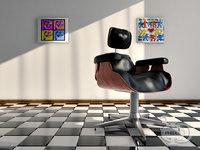 3D armchair 2