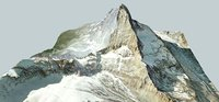 matterhorn 3D model