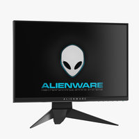 dell alienware 25 3D model
