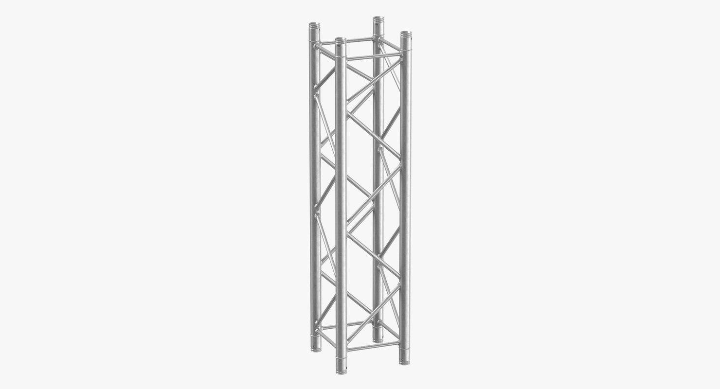 stage trusses column 01 3D model