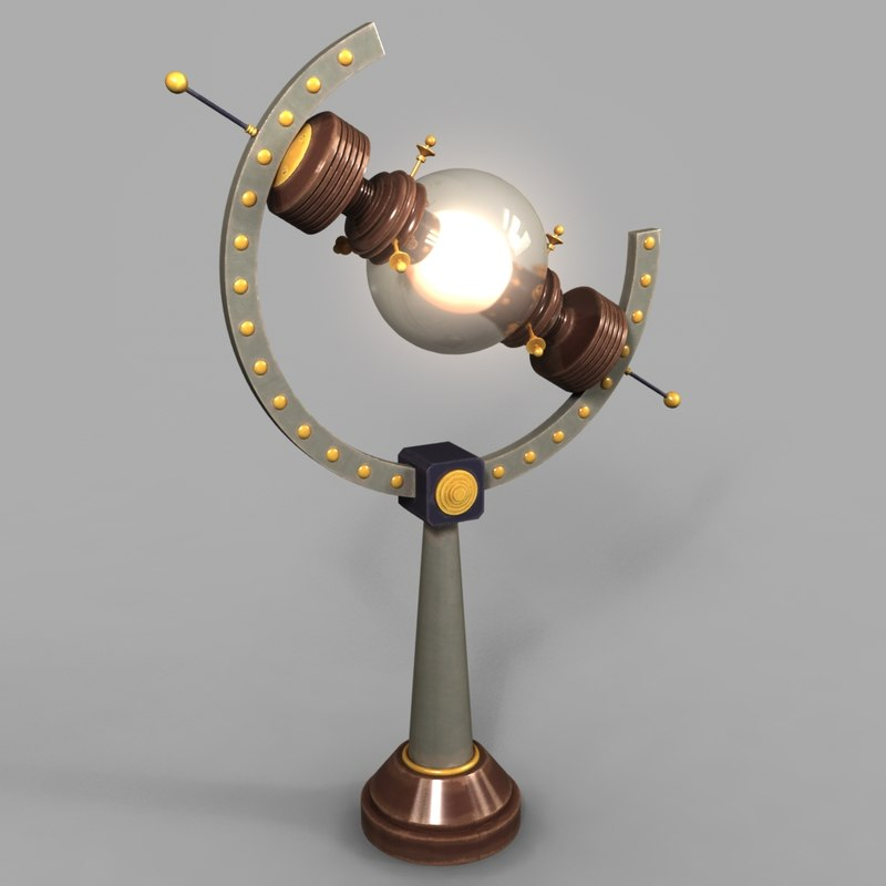 lamp steampunk model