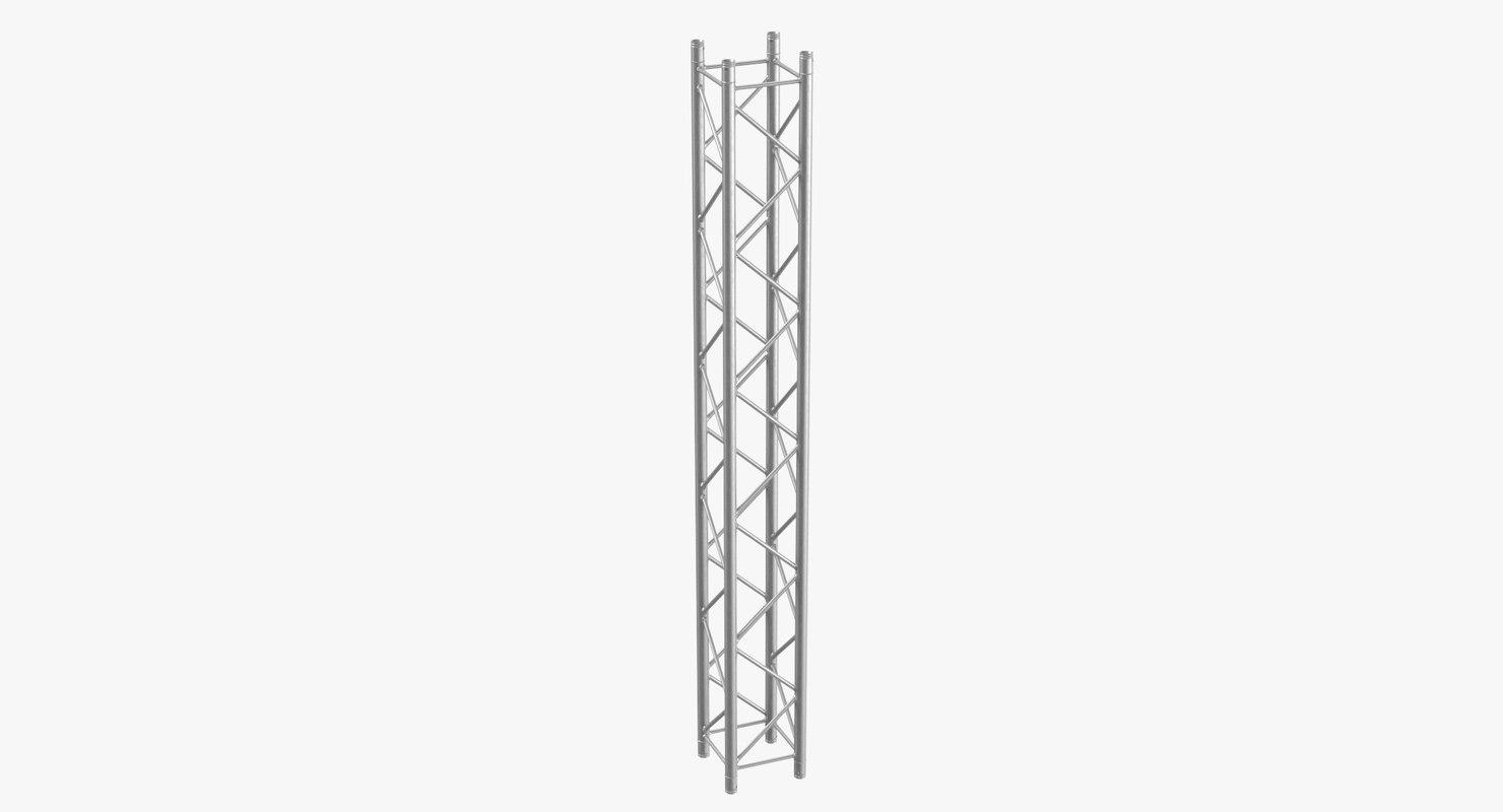 3D stage trusses column 04 model