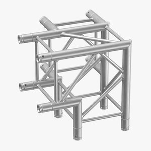 stage truss corner sharp 3D model