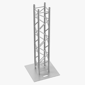 stage truss pillar 02 3D model