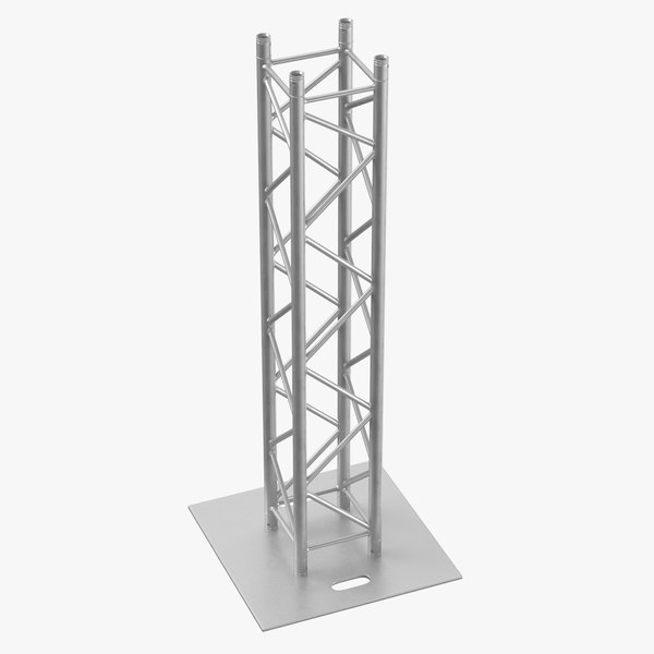 stage truss pillar 02 3D model