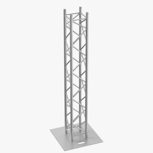 stage truss pillar 03 3D