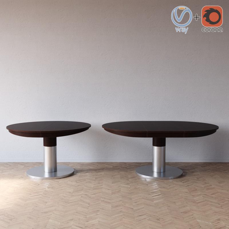 diva table potocco 3D model
