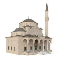 3D turkey sisli mosque