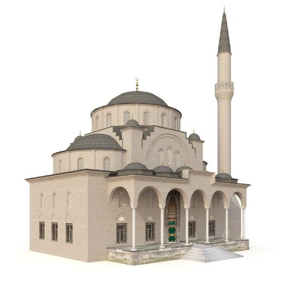 3D turkey sisli mosque