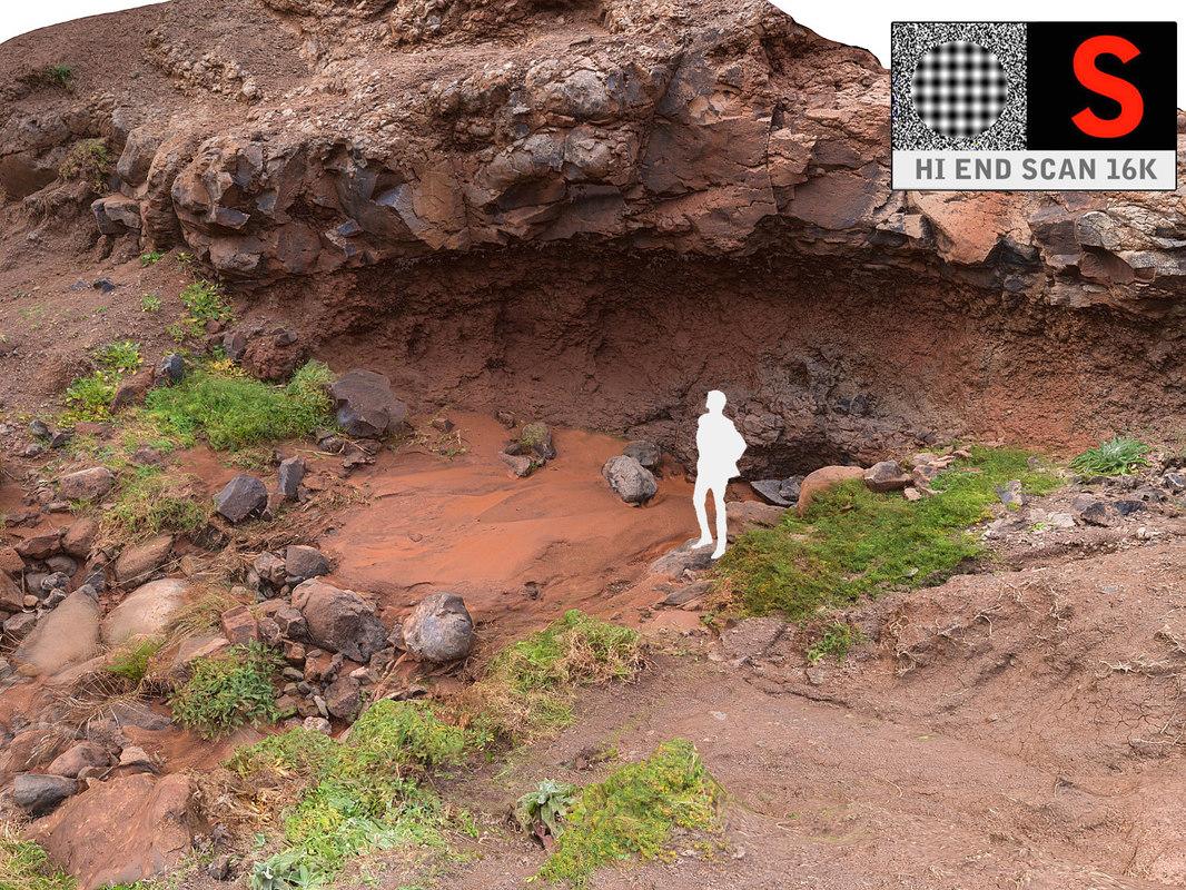 madagascar cave scan 16k model