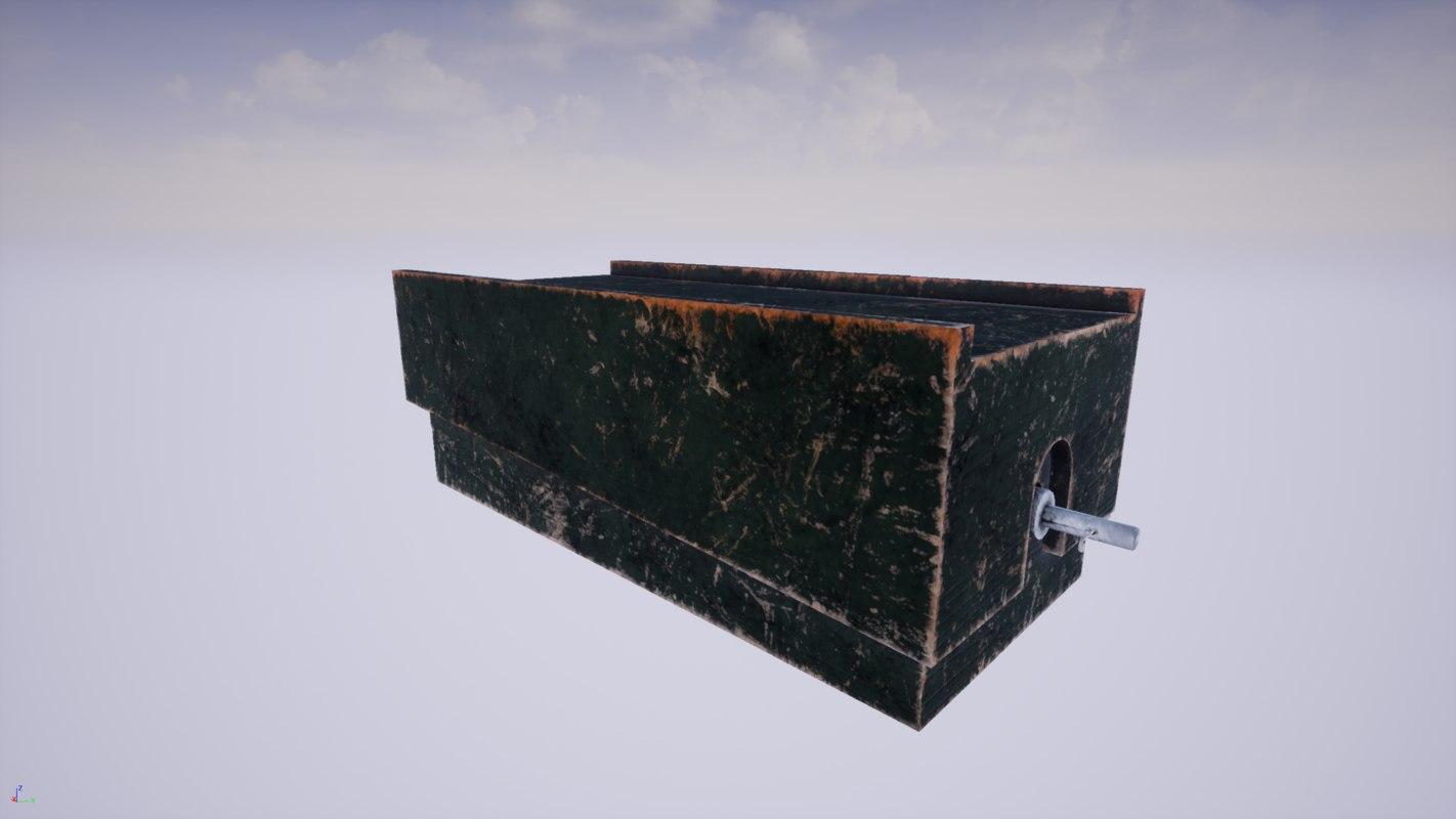 3D tripwire box model