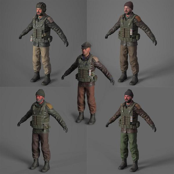 terrorist pack 3D