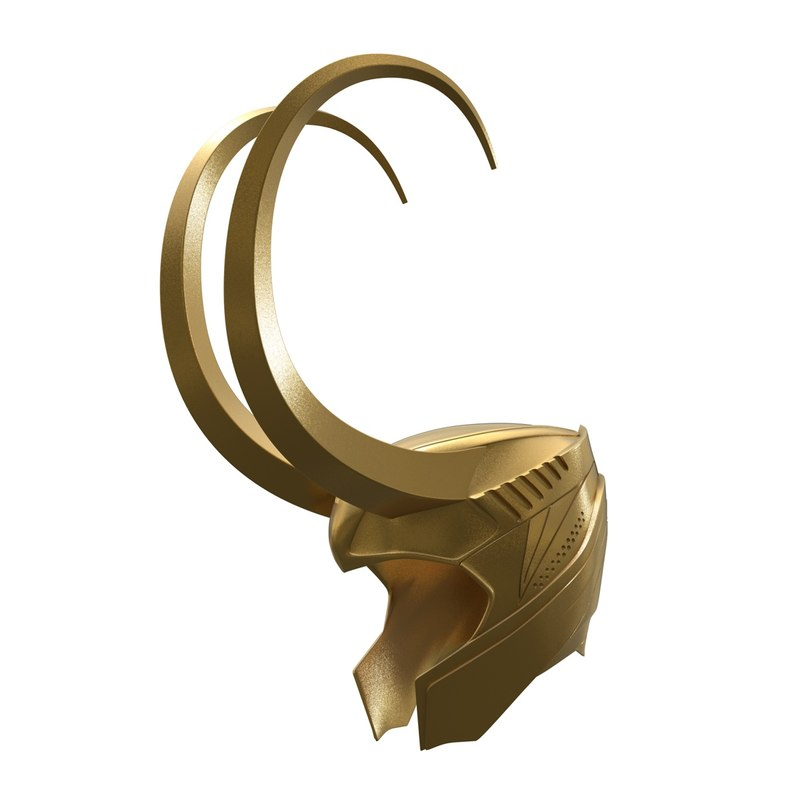 3D loki helmet model
