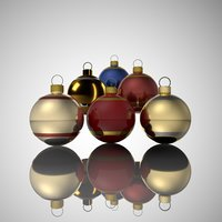 3D chrismas ball