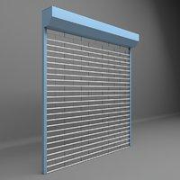 roller shutter garage shop markt door