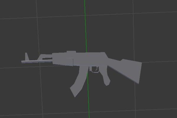 ak-47 ak 47 3D