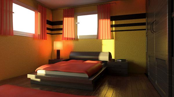 mr bedroom 3D model