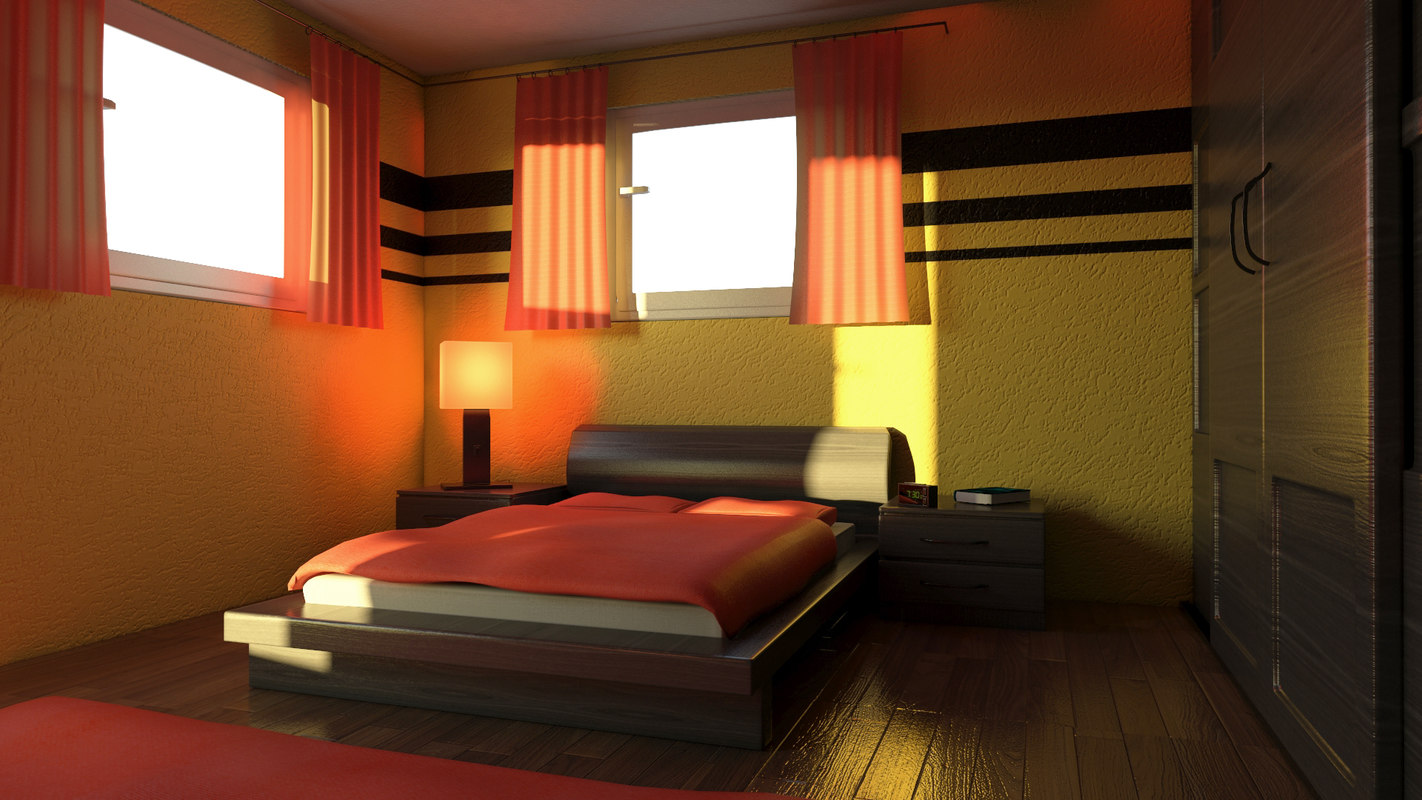 mr bedroom 3D model