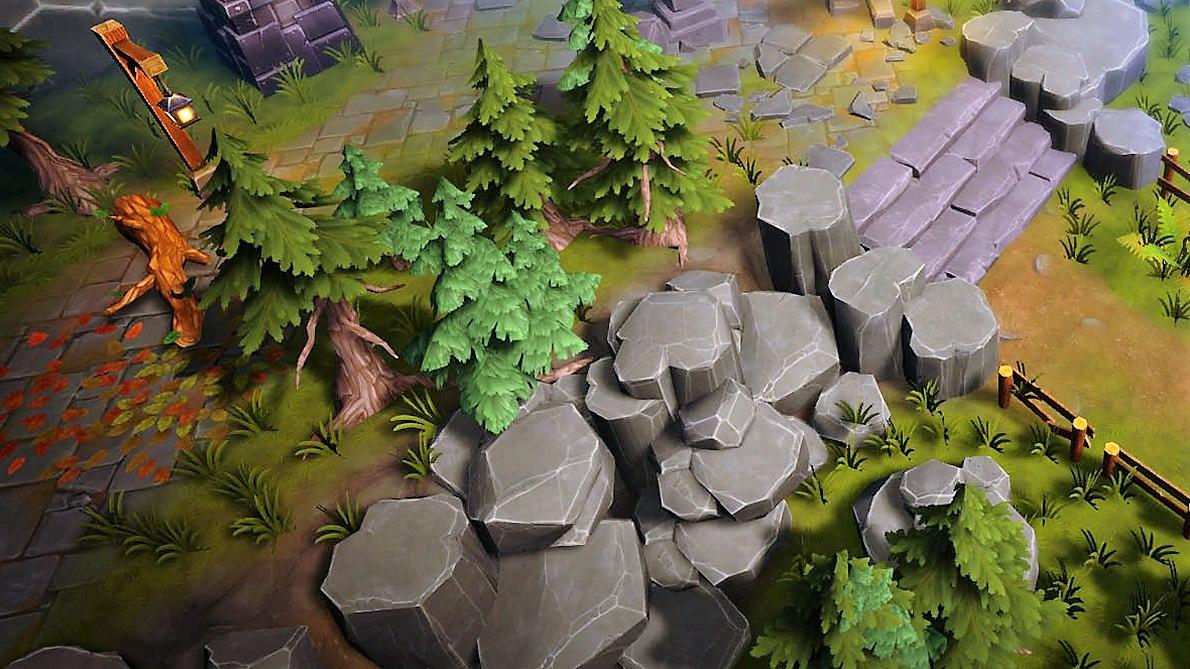 3D pack moba assets