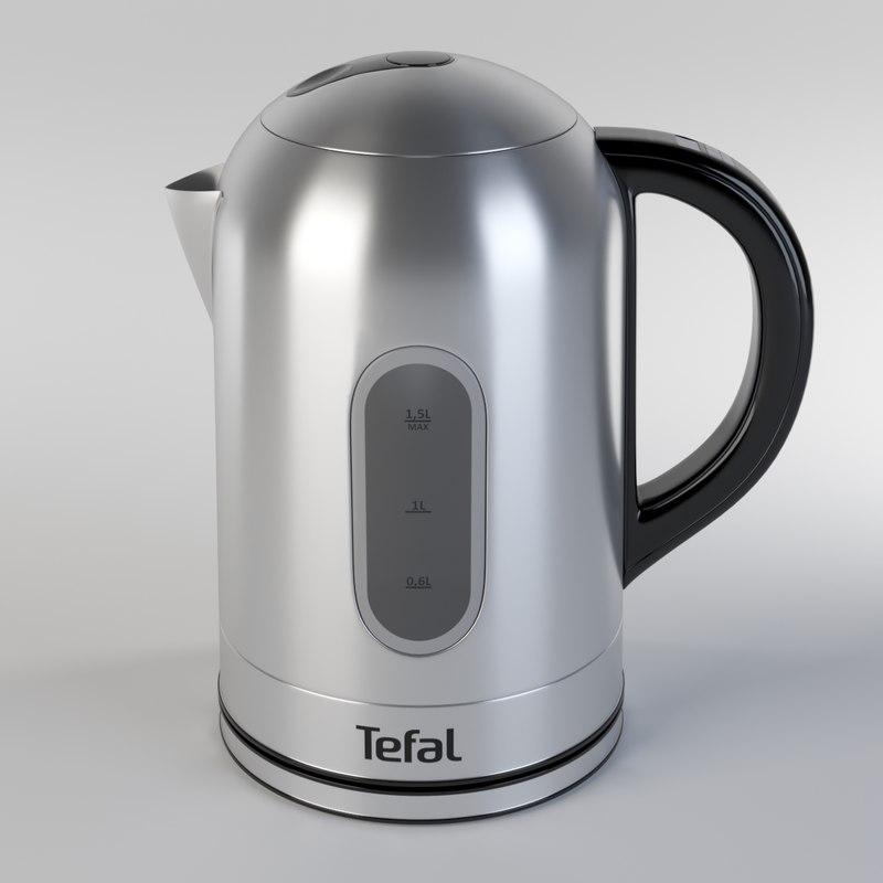 kettle tefal k1400d 3D