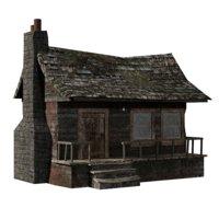 building cabin model