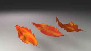 3D 3 leafes