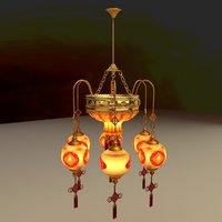 3D model chinese lantern
