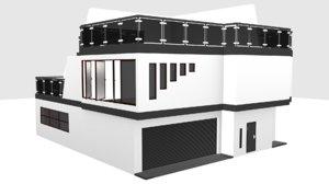 3D model constructivism house