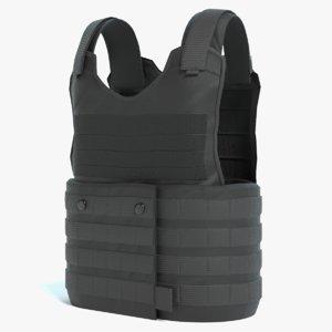 bullet proof vest 3D