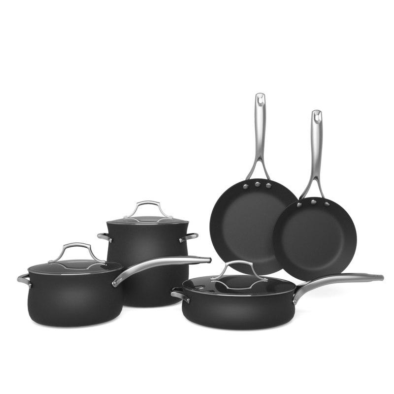 3D kitchen cookware