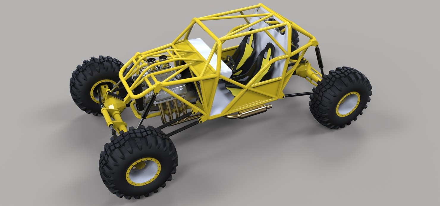 rock crawling buggies model