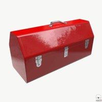 3D vintage tool box