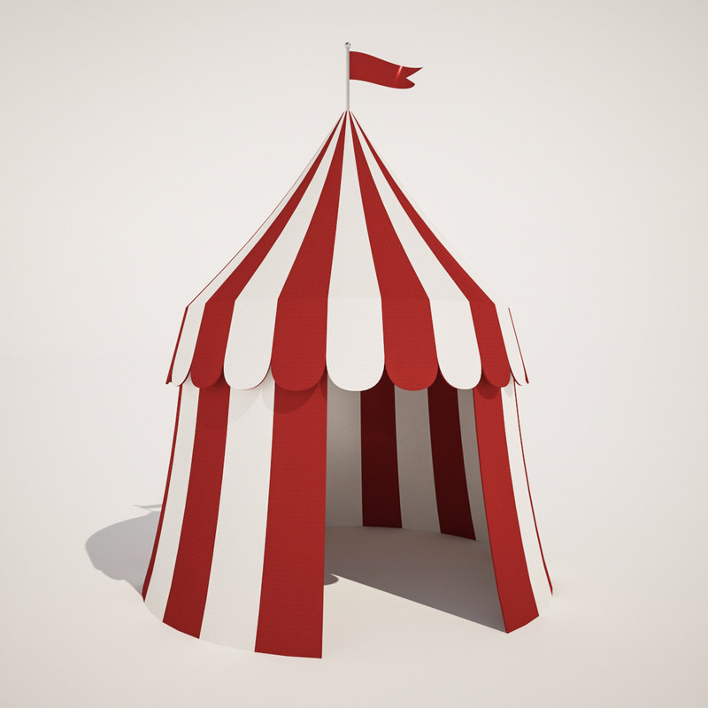small circus 3D model