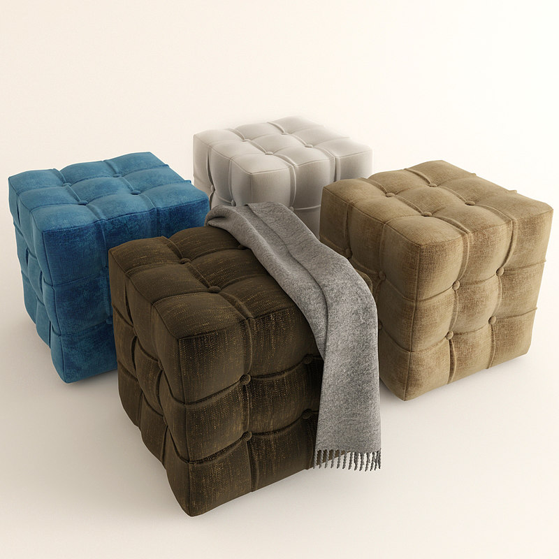 soft furniture 3D model