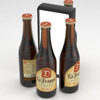 3D beer trappist