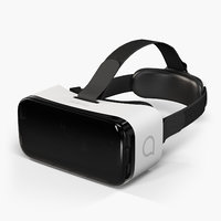 3D model alcatel vr goggles