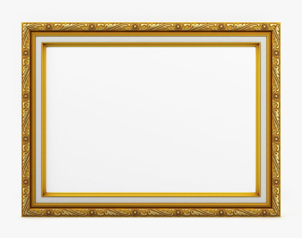 3D frame picture v04