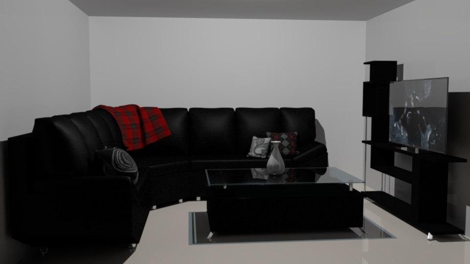 sofa table 3D