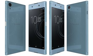 sony xperia xa1 blue 3D model