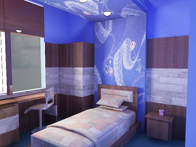 children bedroom c model