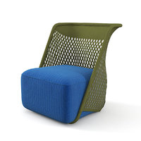 moroso cradle chair mesh 3D model