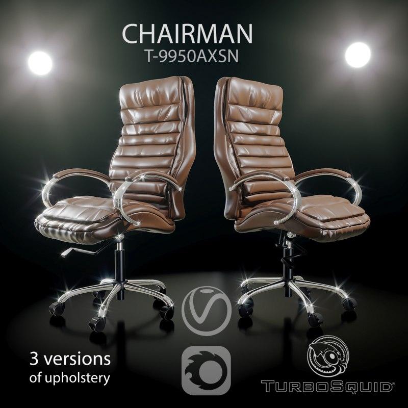 chairman t-9950axsn office chair 3D model
