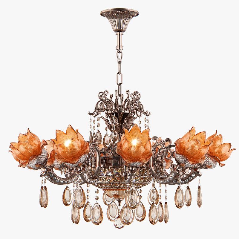 3D model chandelier md 89320-10 2
