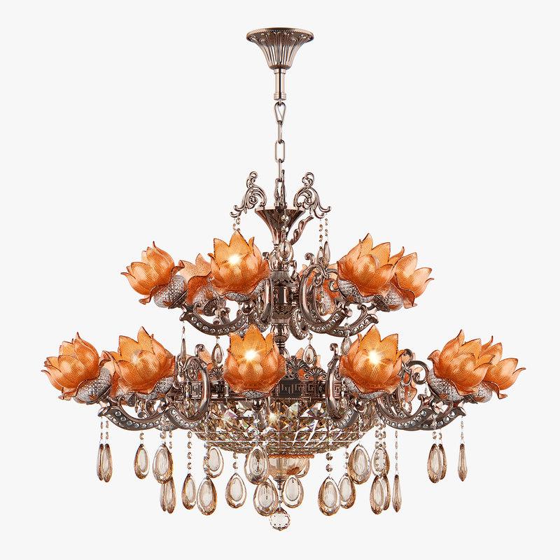 chandelier md 89320-12 6 3D model