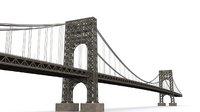 bridge george washington 3D model