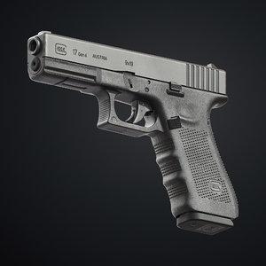 3D glock 17 gen 4
