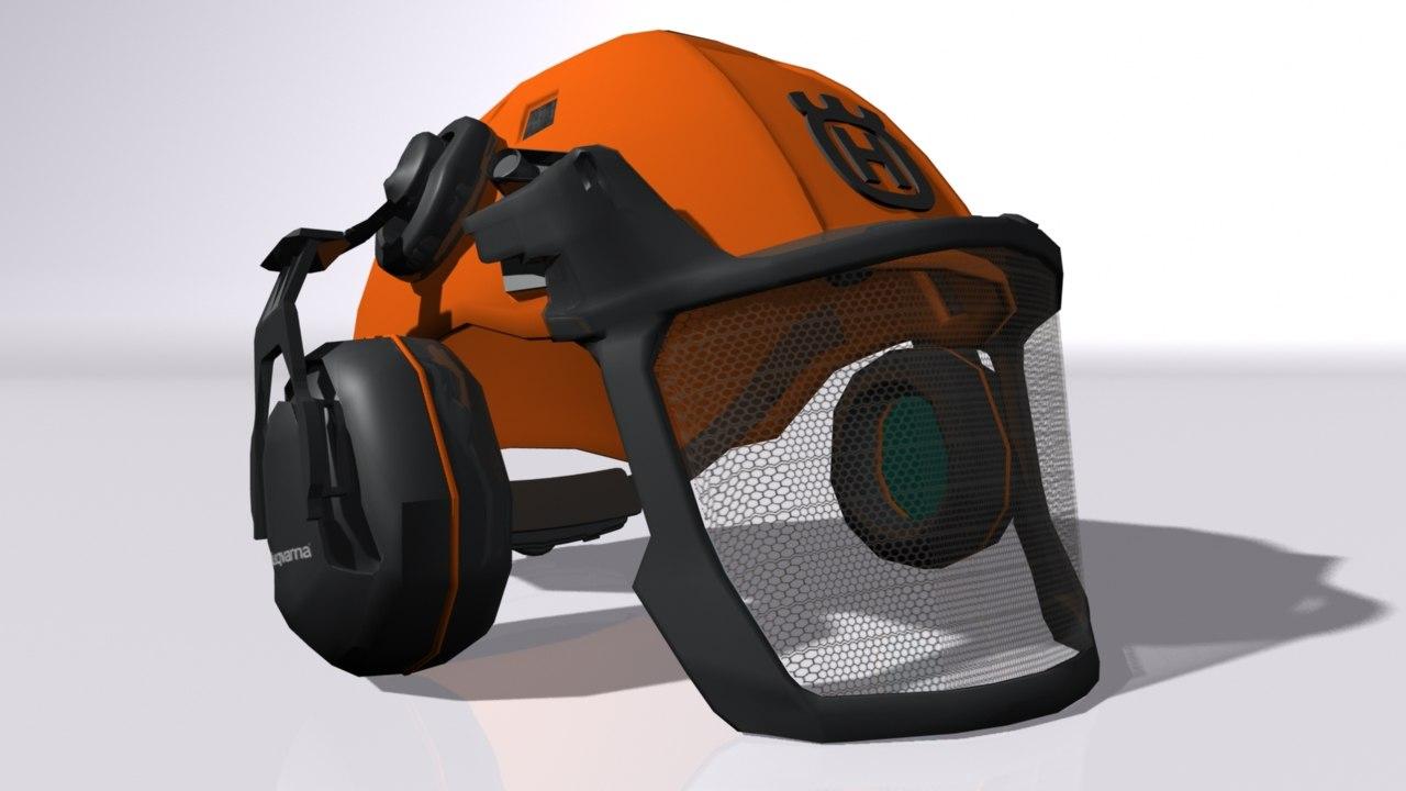 helmet face shield 3D model