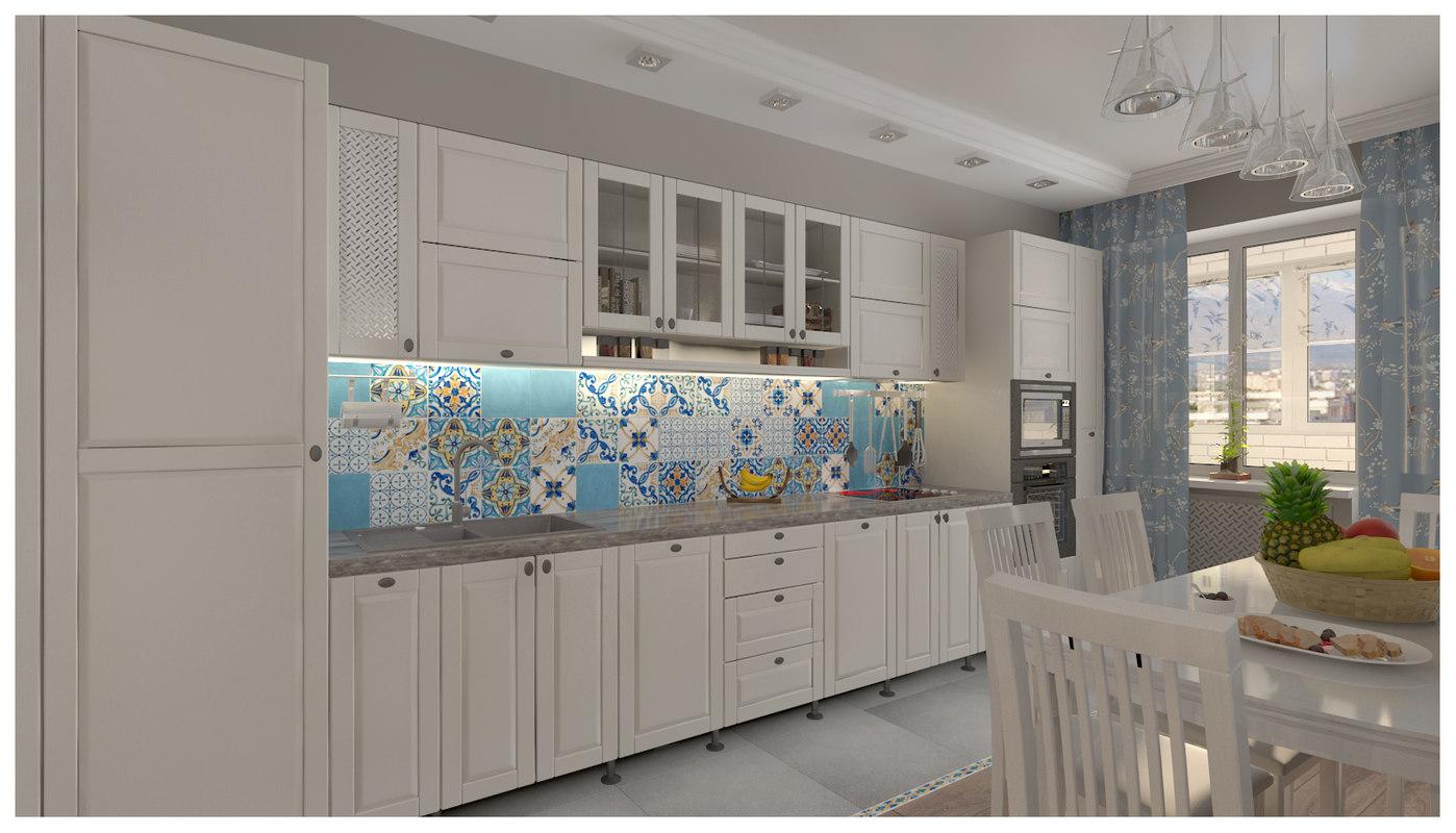 kitchen majolica model