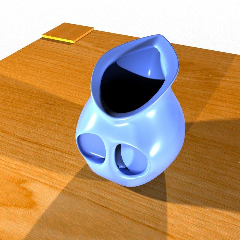 modern jug 3D model